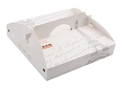"Koala Superstore Paquete de 30 Cajas de Pizza (9"") con manija desechable Cajas"