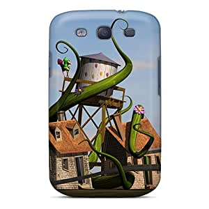 Top Quality Rugged 3d House Case Cover For Galaxy S3