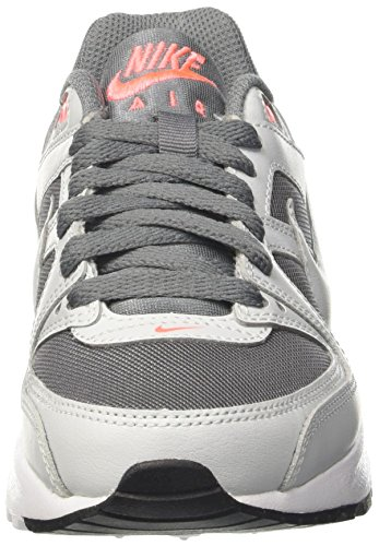 Nike Unisex-Kinder Air Max Command Flex GS Sneakers Grau (Cool Grey/pure Platinum/lava Glow/white/black)