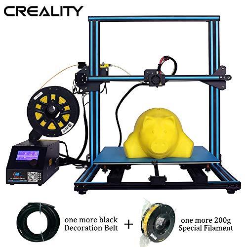 Creality CR-10S S5 3D Printer Upgrade Dual Z Large DIY kit with Filament Sensor,Resume Printing 500x500x500mm Black Blue