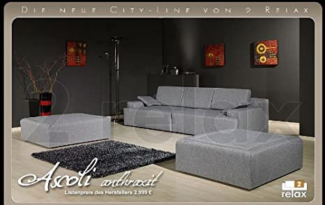 Choco Big Thing Sofa Alcantra Luxus Ecksofa Sofort Lieferbar Amazon De Kuche Haushalt Wohnen