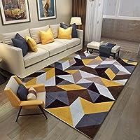 カーペット北欧スタイル パーラー/ソファ/ティーテーブル/ベッドルーム用 洗える絨毯