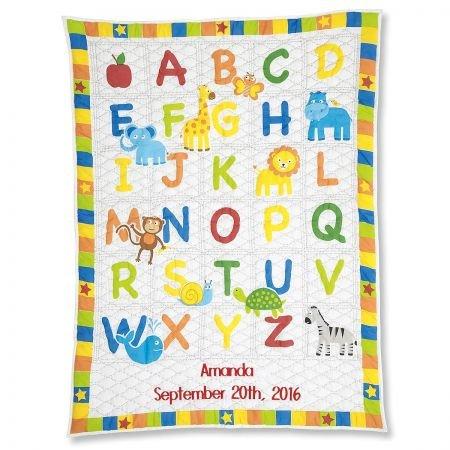 (Lillian Vernon Personalized Alphabet Cotton Baby)