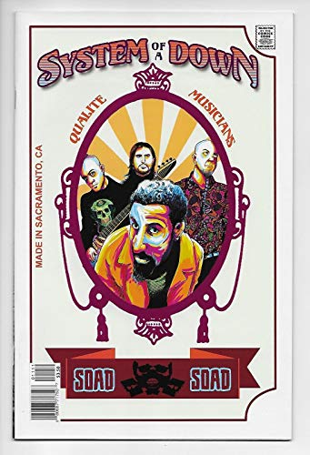 Rock And Roll Biography Comics #11 System of a Down (Acme Ink, 2018) VF/NM (Rock System)