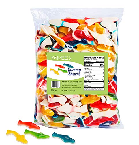 Gummy Sharks - Gummy Sharks Candy - Gummy Sharks Bulk - Bulk Candy - 5 Pounds (Assorted)]()