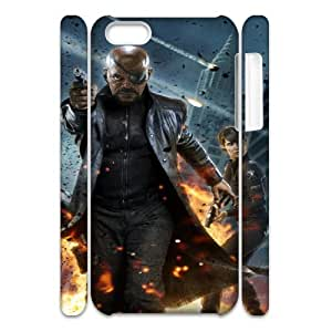 The Avengers YT7036301 3D Art Print Design Phone Back Case Customized Hard Shell Protection Iphone 5C