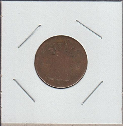 1826 NL Crowned Shield Cent POOR