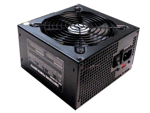 ATX-CB500W APEVIA 500W Power Supply, 1 x 20/24pin Main Power, 1 x 12V 4/8pin, 4 × SATA, 3 x Molex, 1 × PCI-E(6/8pin) and 1 x Floppy Connectors - Best Value & Reliable
