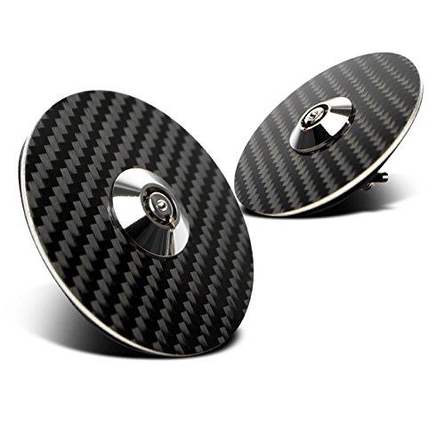Acura Integra Jdm Carbon Fiber (ZMAUTOPARTS Racing Round Hood Pin W/Key Lock JDM Carbon Fiber Acura Audi BMW Cadillac Chevy)