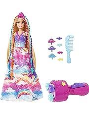 Barbie, Princesa Tranças Mágicas, Mattel, GTG00