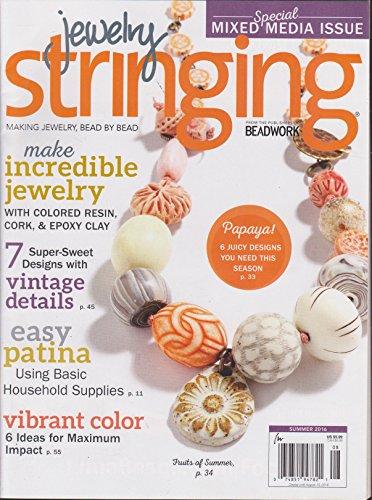 Jewelry Stringing Magazine Summer 2016