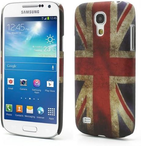 A4E pour samsung galaxy s4 mini coque de protection rigide style rétro uNITED kINGDOM/drapeau vintage uNION jACK