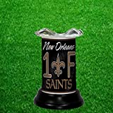 NEW ORLEANS SAINTS TART WARMER - FRAGRANCE LAMP - BY TAGZ SPORTS