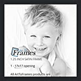 ArtToFrames 17x17 inch Satin Black Picture