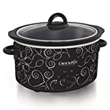 Cheap Crock-pot Scv400-pt: Manual Slow Cooker, Heart & Flower Dotted Patte