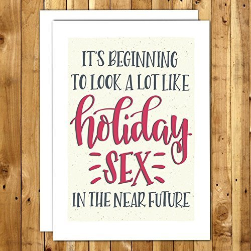 naughty christmas cards holiday sex sexy christmas card with envelope