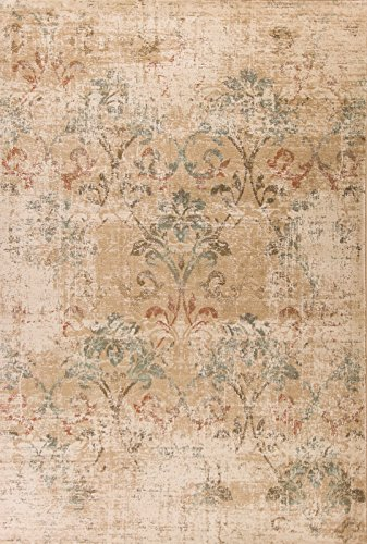 Heritage 9351 Champagne Damask size - 7 ft.7 Inches Round