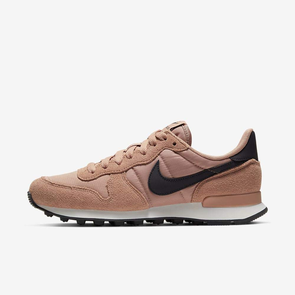 MultiCouleure (Rose or Oil gris Summit blanc 617) 37.5 EU Nike WMNS Internationalist, Chaussures d'Athlétisme Femme