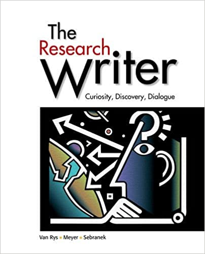 The research writer spiral bound version john van rys verne the research writer spiral bound version john van rys verne meyer patrick sebranek 9780618756223 amazon books fandeluxe Images