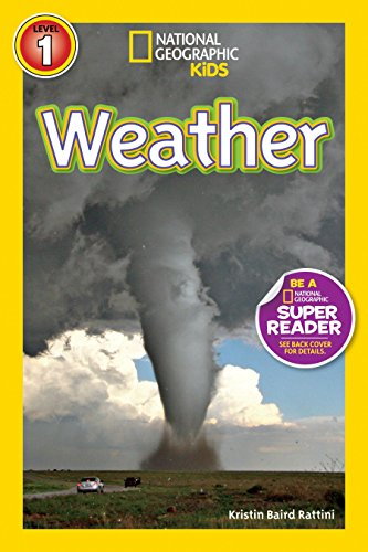 National Geographic Readers: Weather by Brand: National Geographic Children's Books