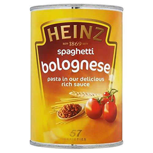 Heinz Spaghetti Bolognese (400g) - Pack of (Heinz Jam)