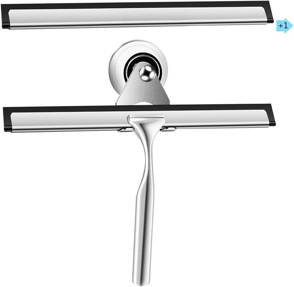 Espátula de acero inoxidable Qimh para espejo de baño o parabrisas ...