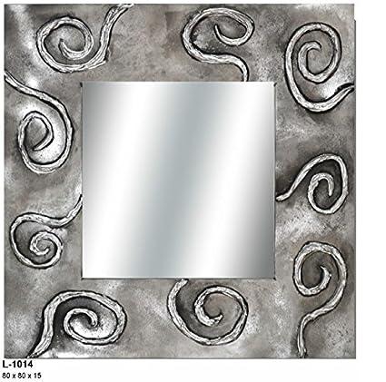 Espejo Original Abstracto Amazones Hogar - Espejo-original