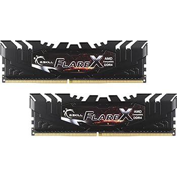 G.SKILL Flare X Series 16GB (2 x 8GB) 288-Pin DDR4 SDRAM DDR4 3200 (PC4 25600) AMD X370 Memory Model F4-3200C14D-16GFX