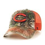 NFL Chicago Bears Realtree Huntsman Closer Stretch Fit Hat, Medium/Large, Realtree Camo