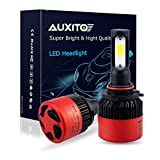 cool air intake kit nissan altima - AUXITO Automobile 9005 LED Headlight Bulbs All-in-One Conversion Kit 6500K Cool White 72W 8000Lms Per Pair -New Version with US COB LED Chips Super Bright