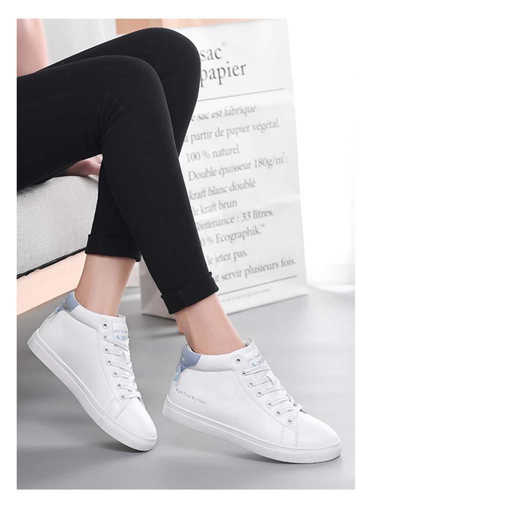 Badeset High to Help weiß Schuhe Damen Wild Wild Wild Spring Damen Schuhe Flach Casual Studenten Schuhe kurz Stiefel Weiß Schuhe UK2-UK7 285424