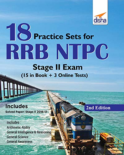 18 Practice Sets for RRB NTPC Stage II Exam (15 in Book + 5 Online Tests) 2nd Edition ()
