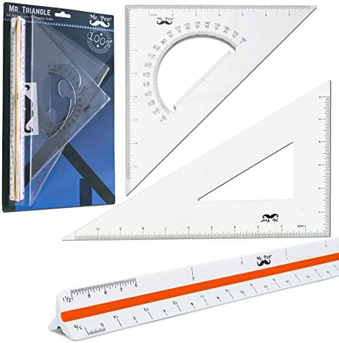 Multifunction Triangular Ruler Scribing Ruler Triangle Rulers Tools 45 degre ZD