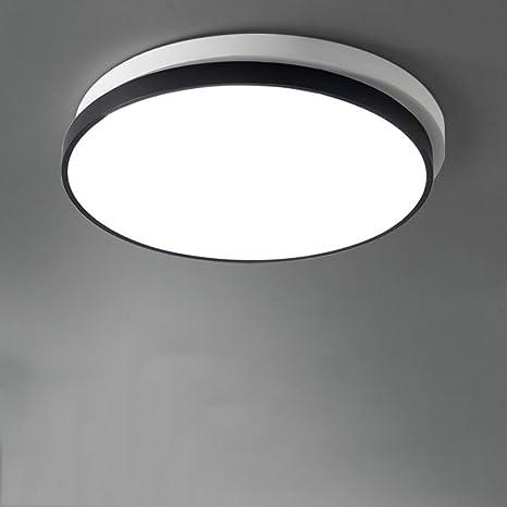 FJH Moderno minimalista blanco y negro arte LED acrílico 3 ...