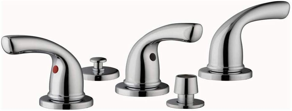 Builders 3 Handle Bidet Faucet In Chrome