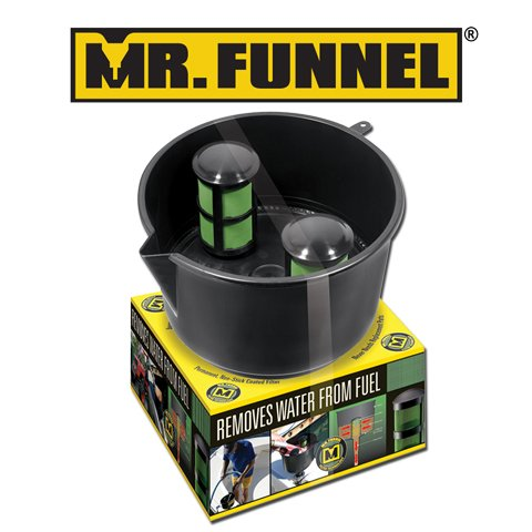 Hopkins F8C Mr Funnel 5Gpm Conductive Fuelfilter Funnel