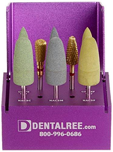 QUALITÉ KITS PK-9010 Acrylic Adjustment and Polishing Kit for Dental Laboratory