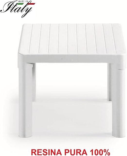 ALTIGASI Mesa Baja – Mesa Blanco para Exterior Modelo Tip de ...