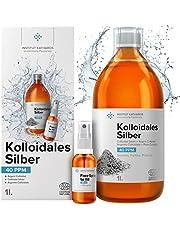 Colloïdaal zilver 100% natuurlijk 40 PPM ● Met onmisbare navulbare spray van 30 ml ● Hoge concentratie, kleinere deeltjes, hogere werkzaamheid ● Made in EU