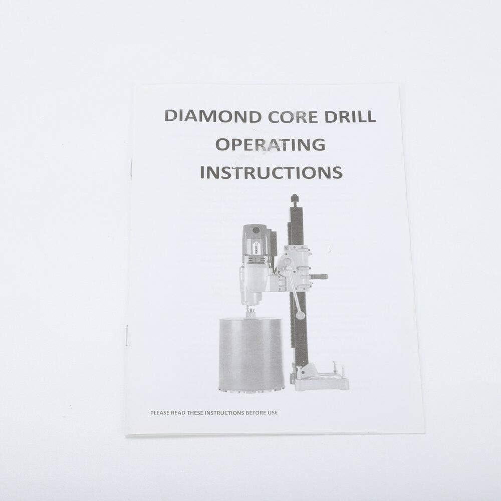 220V 1600W 130mm Diamant Kernbohrer Kernbohrmaschine Kernbohrger/ät Handgriff 1 1//4 UNC Tool