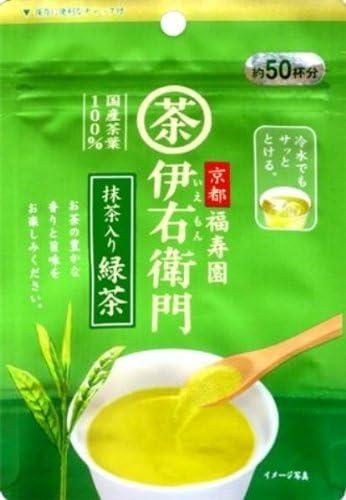 宇治の露 伊右衛門 インスタント緑茶 40g
