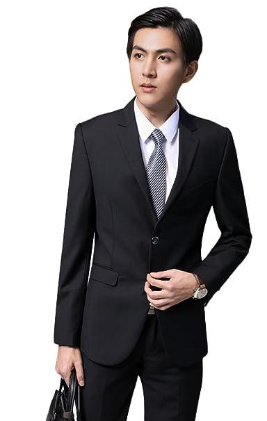 Amazon.com: SK Studio de 2 piezas moderno Formal hombre ...