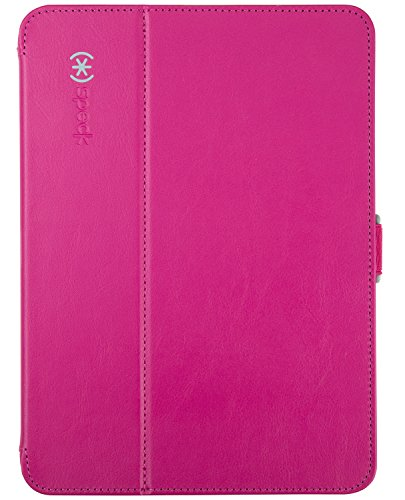 (Speck Products Style Folio Case and Stand for Samsung Galaxy Tab 4 10.1, Fuchsia Pink/Nickel)