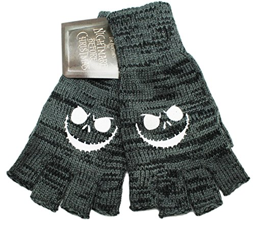 The Nightmare Before Christmas Disney's Menacing Smile Tipless Kids (Nightmare Before Christmas Gloves)