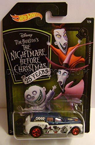 - HOT Wheels Cockney CAB II Lock Shock Barrel 7/8 Nightmare Before Christmas HOT Wheels 2018 Disney Tim Burton's (25 Years)
