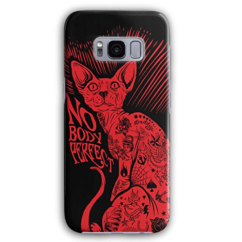Nobody Perfect Sphynx Cat Perfect Pet 3D Samsung Galaxy S8 Case | Wellcoda
