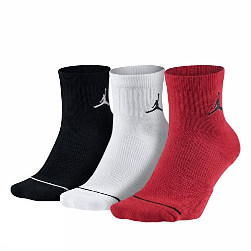 Nike Jordan Nike Jordan Jumpman Dri-Fit Quarter Socks Multi 3 Pair SX5544-011