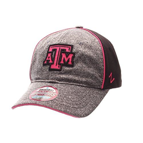 - NCAA Texas A&M Aggies Adult Women's Fierce Women's Performance Hat, Adjustable Size, Heather Gray/Black