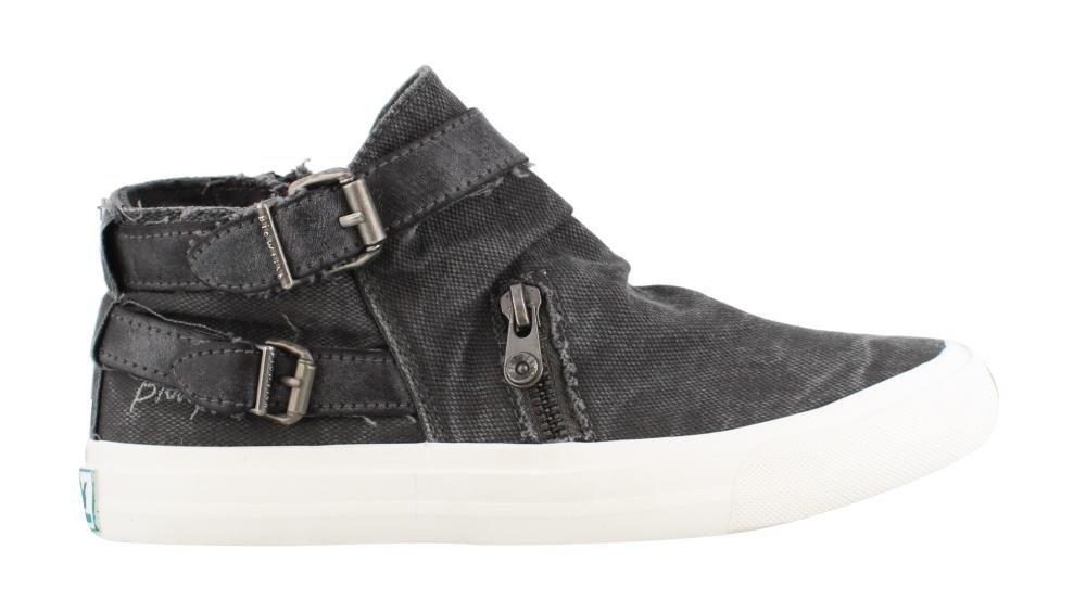 Blowfish Women's Mondo Sneaker B01N1VIRU4 8 M US|Grey Smoked Canvas