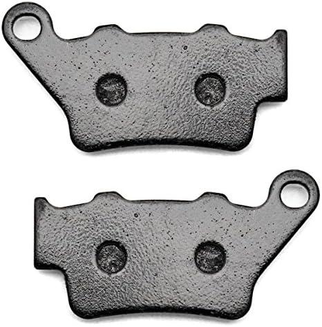KMG Rear Brake Pads for 1993-2009 Husqvarna WRE 125 Non-Metallic Organic NAO Brake Pads Set